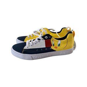 TOMMY HILFIGER x Space Jam Tweety Sneakers Sz 9 NEW